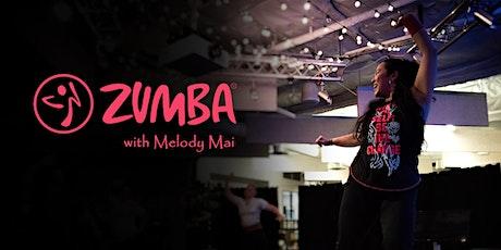 Saturday Livestream Zumba with Melody - 45 min tickets