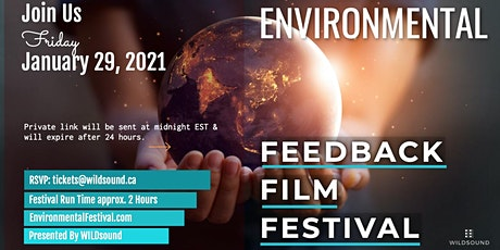 Environmental (FREE) Film Festival | This Friday Jan. 29th. Stream all day tickets