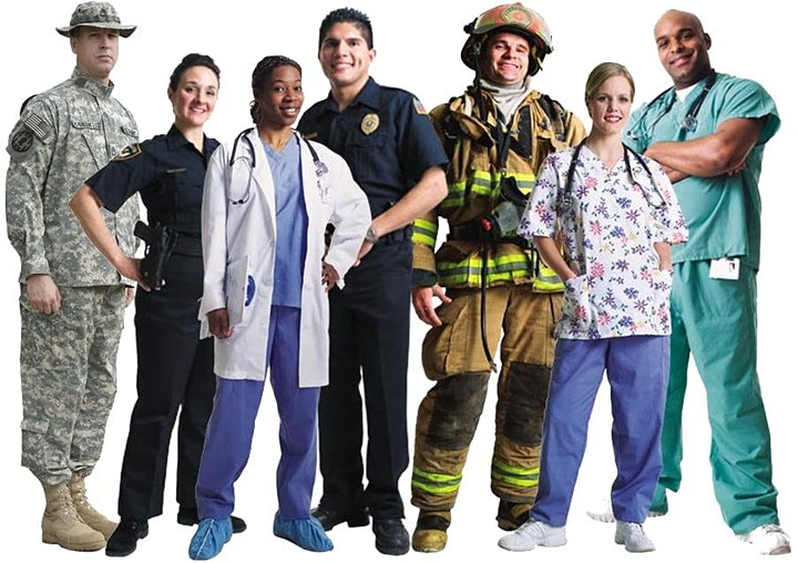 Health Services & First Responder  - Presale Pass / Spring 2021 image