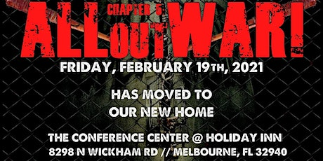 "ARW - Chapter 5 ""All Out War!"" - 4 Year Anniversary Show tickets"