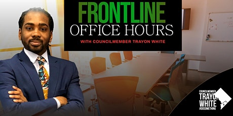 Frontline Office Hours w/ CM Trayon White tickets