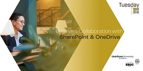 Tuesdays with Microsoft:  Business Collaboration with SharePoint & OneDrive bilhetes