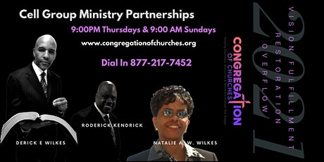 Cell Group Ministry Partnerships tickets