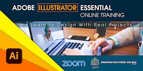 Adobe Illustrator Essential Online Training tickets