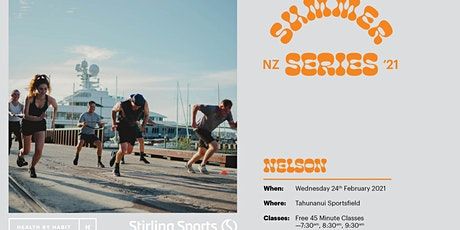 Stirling Sports X Health by Habit Summer Series - Nelson tickets