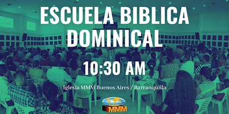 Escuela Biblica Dominical 10:30 AM boletos