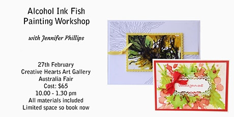 Abstract Alcohol Ink Painting  Workshop tickets