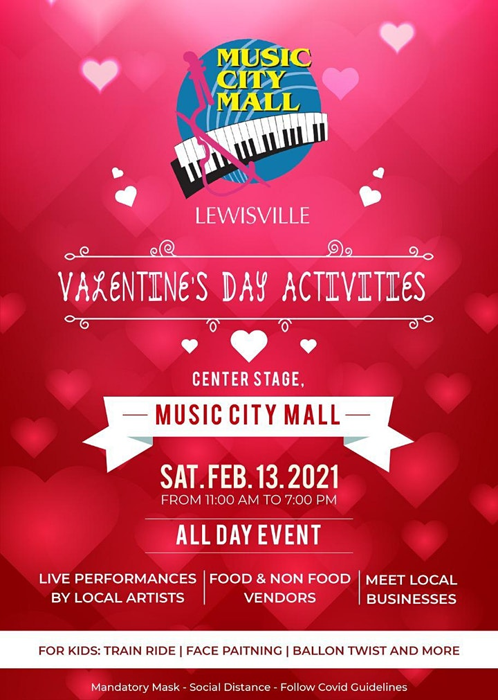 DEW VALENTINES FAMILY GALA  2021 FREE ADMISSIONS image