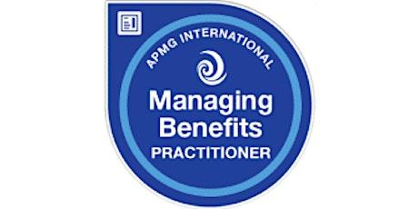 Managing Benefits Practitioner 2 Days Training in Kitchener tickets