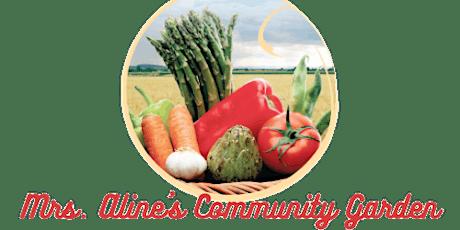 Mrs. Aline's Community Garden Volunteer Days- Memphis tickets