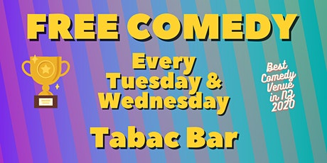 Free Live Comedy in Auckland CBD tickets