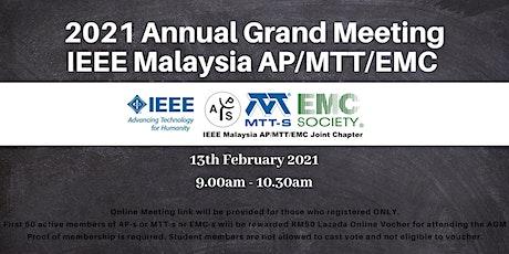 2021 AGM: IEEE AP/MTT/EMC Joint Chapter tickets