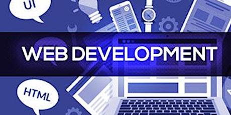 4 Weekends Only Web Development Training Course Pleasanton tickets