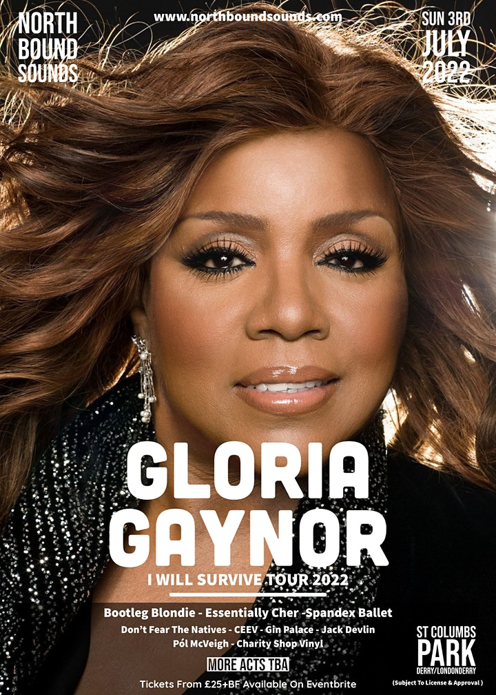 Gloria Gaynor - I Will Survive Tour 2022 image