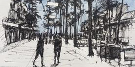 Strong perspective on The Corso: pen and watercolours with Mike Willdridge tickets