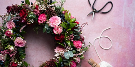 Valentine's Luxury Online Wreath Workshop tickets
