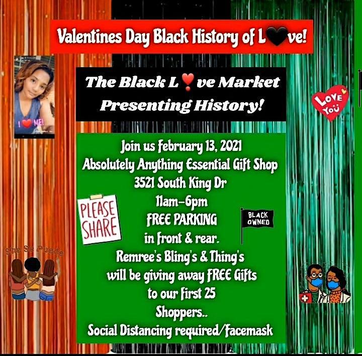Black Love ❤ Market Presenting History! image