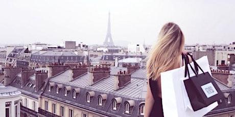 Jus Adventures' Paris Luxury Shopping Trip informational tickets