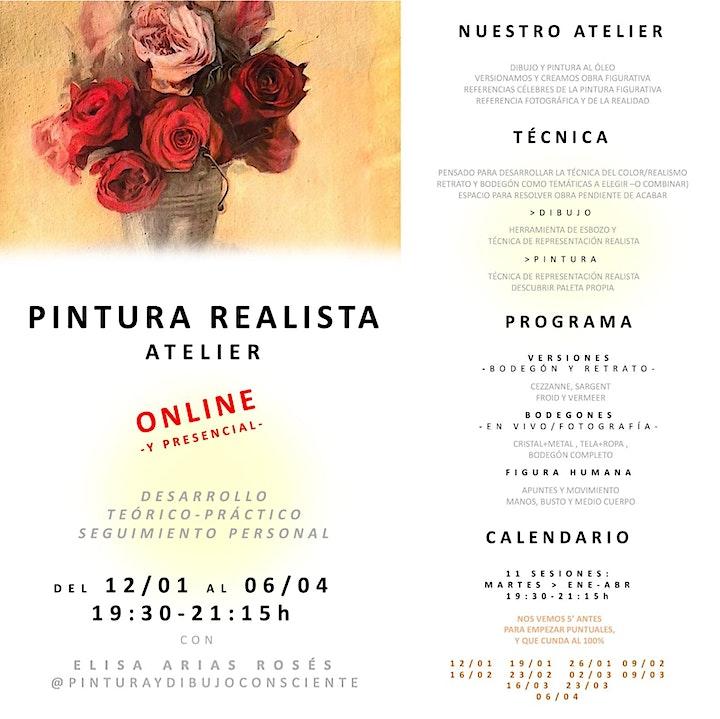 Imagen de PINTURA REALISTA - ¡CLASE ABIERTA!