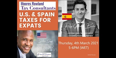 Webinar on U.S. /SPAIN TAXES FOR EXPATS (Madrid, Spain Time)
