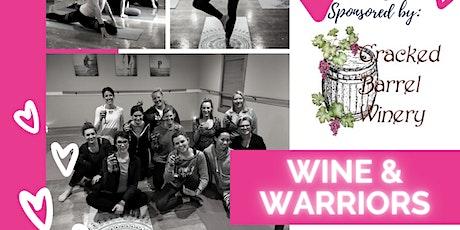Wine & Warriors tickets