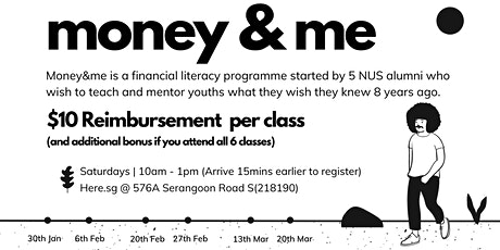 Money&Me Programme  | Financial Literacy for Youth tickets