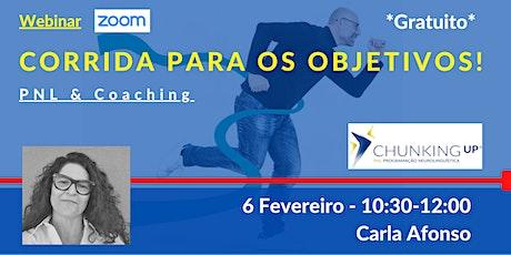 Webinar: Coaching_Corrida para os Objetivos bilhetes