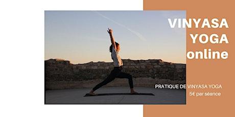 Yoga Vinyasa Class | 5 €  | En visio Online billets