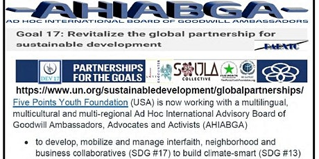 AHIABGA International Decade for People of African Descent and the SDGs tickets