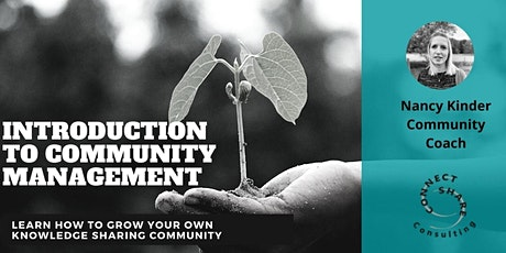 Introduction to Community Management  - Training tickets