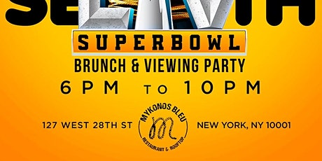 Sunday Brunch and Super Bowl Viewing Party tickets