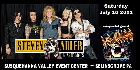 Live!  Steven Adler of Guns N Roses and Def Leggend tickets