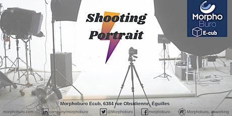 Séance de shooting portrait pro billets