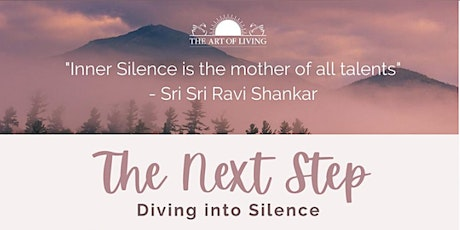 Unlock the hidden power of Silence- An Introduction to the Art of Silence tickets