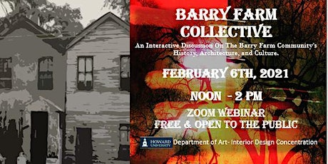 Barry Farm Collective - A Discussion on the Historic Barry Farm Community tickets
