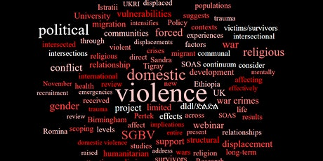 War violence and domestic violence: Understanding the relationship tickets