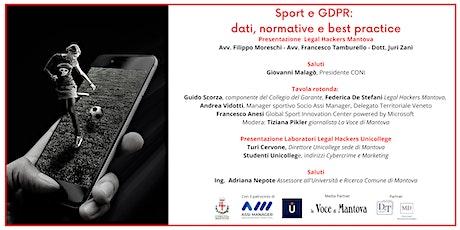 Sport e GDPR: dati, normative e best practice biglietti