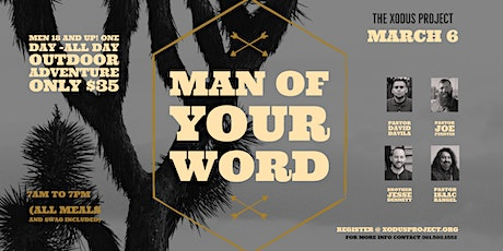 Mens Xodus - Man of Your Word tickets