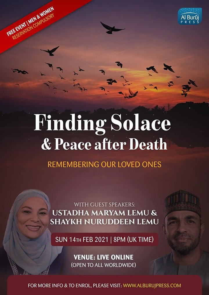 Finding Solace and Peace after Death: FREE Seminar! image
