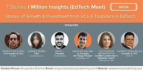 7 Stories I Million Insights (SLP India EdTech Meet) tickets