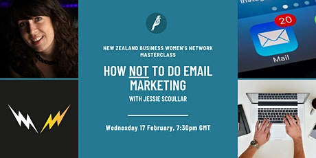 Masterclass: How Not To Do Email Marketing tickets