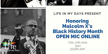 Black History Month Online Open Mic and Black Liberation Panel tickets