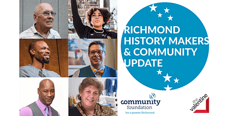 2021 Richmond History Makers & Community Update tickets