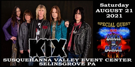 Live!  KIX and Back in Black tickets