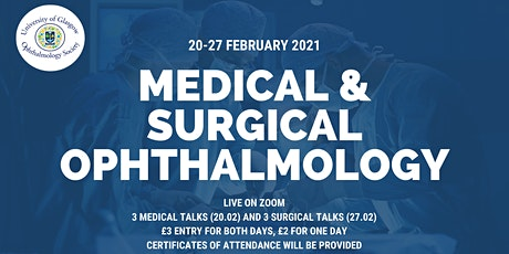 GUOS Medical & Surgical Ophthalmology Webinar tickets