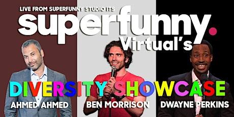 Superfunny Virtual's Diversity Showcase tickets