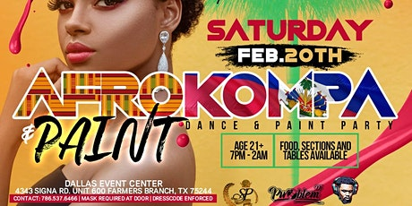 Afro Kompa & Paint tickets