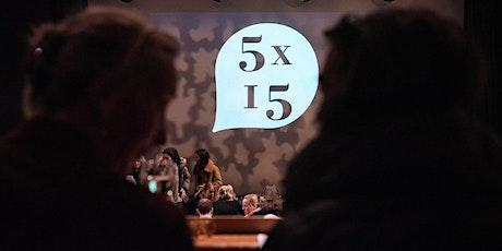 5x15: with Rachel Clarke, Ben Okri and more tickets