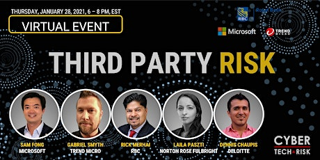 Cyber Tech & Risk - Third Party Risk tickets