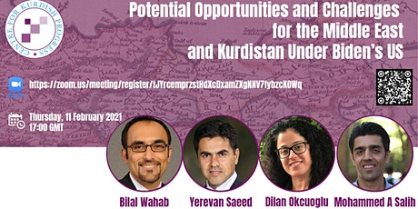 Potential Opportunities and Challenges for the Middle East and Kurdistan tickets